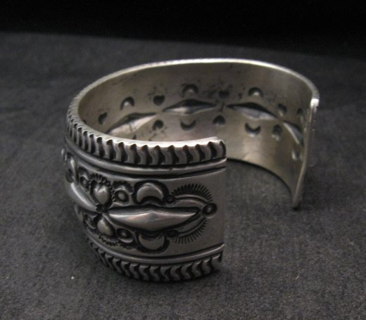 Image 5 of Darryl Becenti Navajo Native American Sterling Silver Cuff Bracelet