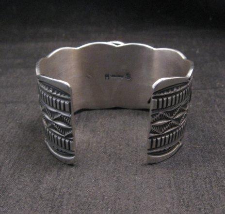 Image 4 of Navajo Native American Spiny Oyster Sterling Silver Bracelet, Guy Hoskie