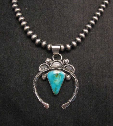 Image 0 of Old Pawn Style Navajo Jewelry Naja Pendant, Everett & Mary Teller