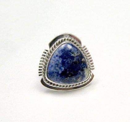 Image 0 of Navajo Native American Lapis Lazuli Ring sz6, Larson Lee