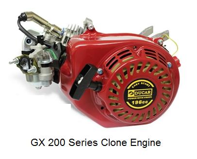 Image 0 of Ducar 196cc GX200 Series Clone Engine