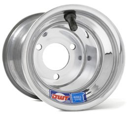 Douglas 6'' Kart Wheels - Polished