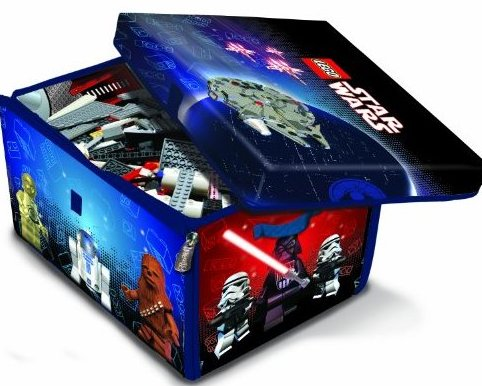 LEGO Star Wars ZipBin 1000 Brick Storage Toy Box and Play by Neat-Oh
