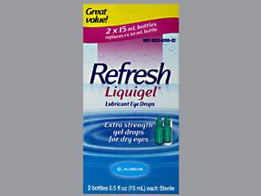 Refresh Liquigel Lubricant Eye Drops -2 X 0.5 fl oz (15ML) bottles by ALLERGAN