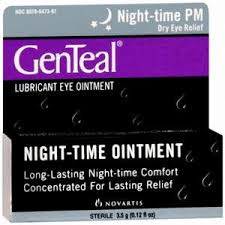 Genteal PM Lubricant Eye Ointment - 0.125 oz Tube (3.5Gm)