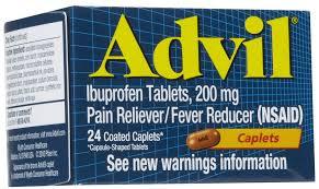 Advil 200 mg Caplets 24 by Pfizer