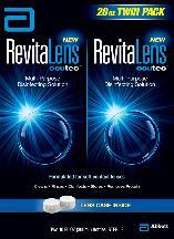 RevitaLens OcuTec Multi-Purpose Disinfecting Solution - 2 pack, 10 fl oz bottles