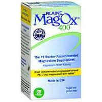 Mag-Ox 400 mg Tab 60 By Advanced Vision Research Item No.:4034076 NDC No.: 60569049460 UPC No.: 760569494602 Item Description: Misc Mineral Supplements Other Name:Mag-Ox Therapeutic Code: 560400 Thera