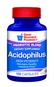 GNP Acidophil 175 mg Cap 100