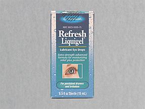Refresh Liquigel Lubricant Eye Drops - 0.5 fl oz bottle
