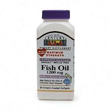 Fish Oil 1200Mg Ec Softgel 90Ct 21St Cen