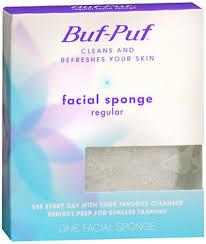 Buf-Puf Sponge Face Regular