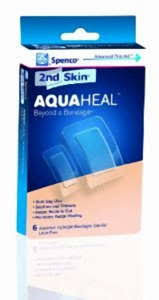 2nd Skin Aquaheal Bandage Asst 6 Count