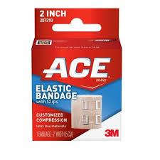 ACE ELASTIC BANDAGE W/CLIP 3 INCH