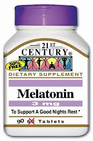 Melatonin 3Mg Tablet 90Ct 21St Cent