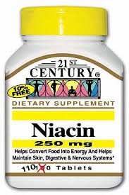Niacin 250mg Tablet Pr 110 Count 21st Cent