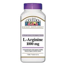 L-Arginine 1000mg Tablet 100 Count 21st Cent