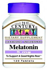 Melatonin 5 Mg Tab 120