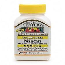 Niacin 500Mg Flush Free Cap 110Ct 21St