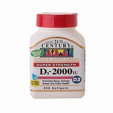 Vit D3 2000 IU 2000 Unit Cap 250 By 21st Century Nutritional Prod/Good Neighbor Pharmacy (GNP) Item No.:4217760 NDC No.: 40985027416 UPC No.: 740985274163 Item Description: Vitamin D Other Name:Vit D3