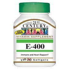 Vit E 400 IU 110 By 21St Century Nutritl Prod/Gnp Item No.:4192070 NDC No.: UPC No.: 740985212455 Item Description: Vitamin E Other Name:Vit E 400 IU Therapeutic Code: Therapeutic Class: Vitamins Dea