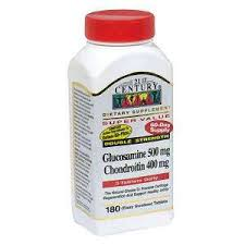 Glucosamine Chondroitin 500-400 mg Tab 180 By 21st