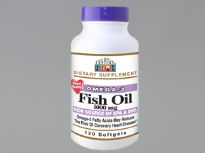 Fish Oil 1000Mg Softgel 120Ct 21St Cent