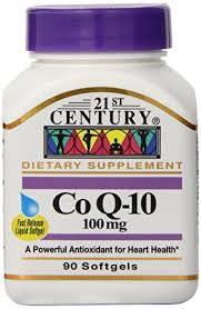 COQ10 100mg Softgel 90 Count 21st Centu By 21st Century