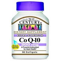 COQ10 200mg Softgel 90 Count 21st Century By 21st Century Nutritional Prod/GNP