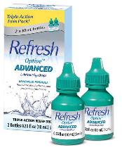 REFRESH OPTIVE ADVANCED 2X10ML .66OZ