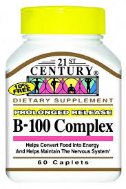 B-100 Complex 0.4 Mg Tab 60 By 21St Century