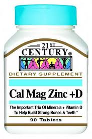Cal Mag Zinc 333Mg-133 Tab 90 By 21St Century Nutritl Prod/Gnp