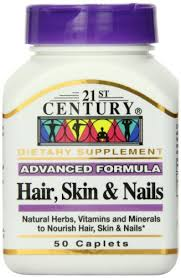 Hair Skin Nails Advan Form Cap 50 Count 21St