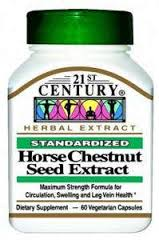 Horse Chestnut Seed Extract Cap 60 21St