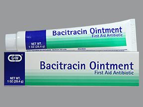 Bacitracin Oint 500Un/Gm(1 oz )28.4G G&W