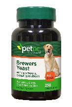 Pet Nc Brewers Yeast 250 Count Chwtab