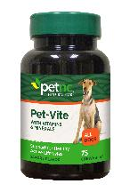 Pet Nc Pet Vite 75 Count Chwtab
