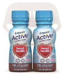 Ensure Choc Heart Health Shake 4X8 oz