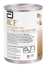 Rcf Soy Formula W/Iron Can 12X13 oz