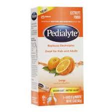 Pedialyte Large Powder Packets Orange 6Ct