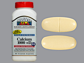 Calcium 1000 1000Mg-800 Tab 90 By 21st Century Nutritional Prod/GNP