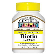 Biotin 10000 120 By 21St Century Nutritl Prod/Gnp