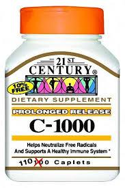 Vitamin C ER 1000 mg Tab 110 By 21st Century Nutritional Prod/Good Neighbor Pharmacy (GNP) Item No.:4405886 NDC No.: 40985021225 UPC No.: 740985212257 Item Description: Vitamin C Other Name:Vitamin C