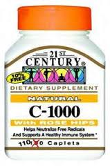 Vitamin C Ros 1000 mg Tab 110 By 21st Century Nutritional Prod/Good Neighbor Pharmacy (GNP) Item No.:4405896 NDC No.: 40985022383 UPC No.: 740985223833 Item Description: Vitamin C Other Name:Vitamin C