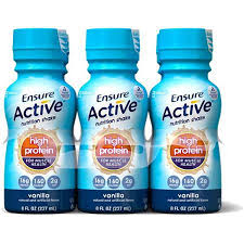 Ensure Act Hi Pro Muscle Vanl 4X6X8 oz