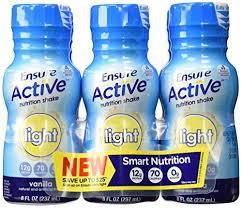 Ensure Active Light Vanilla 4X6X8 oz