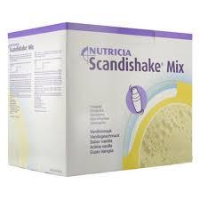 Scandishake Powder Single Caramel 4X3 oz By Actavis Pharma /OTC