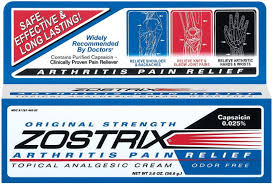 Free Shipping-Zostrix 0.025 % Cream 2 oz Case of 24 By Advanced Vision Research
