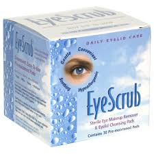 Eye Scrub Sterile Eye Makeup Remover & Eyelid Cleansing Pads 30 Each By Alcon