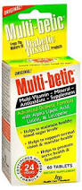 Multibetic Diabetic Multi Tablet 60Ct